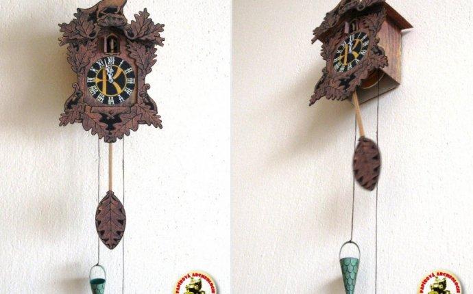 Часы с кукушкой / Kukackove Hodiny [ABC 14/1971] из бумаги, модели