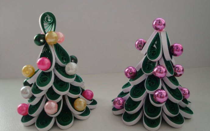 елка в технике квиллинг,поделки из бумаги,мастер класс,новогодние