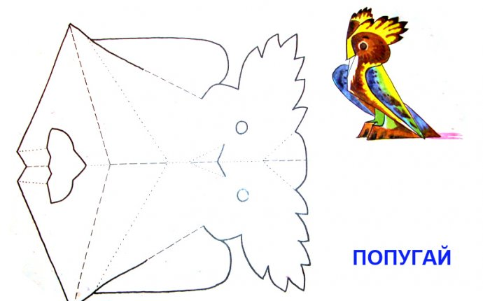 фигуры из бумаги - Самое интересное в блогах