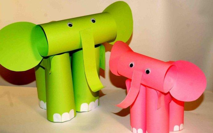Интересные поделки из цветной бумаги для детейLUX-DEKOR.RU