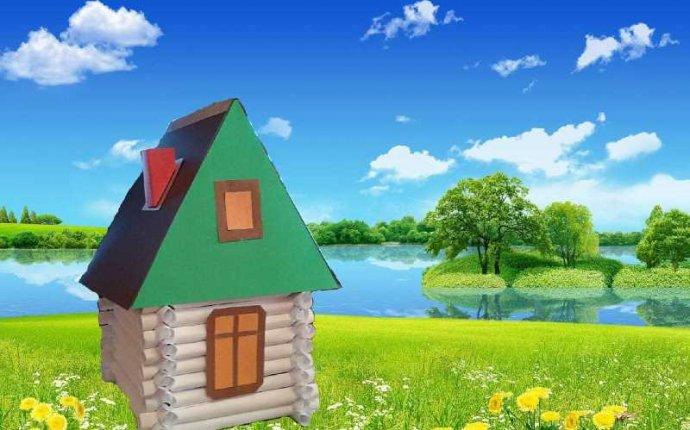 Как сделать домик из бумаги бревенчатый — Rental-k.ru