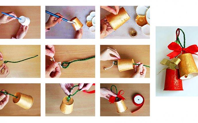 Новогодние поделки своими руками для детского сада. Лучшие идеи