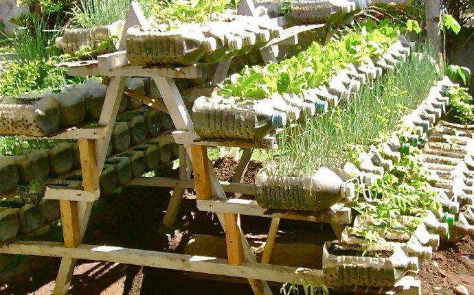 Поделки для сада огорода из пластиковых бутылок своими руками