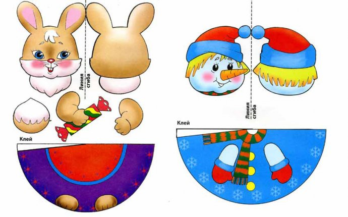 Поделки игрушки новогодние не из бумаги