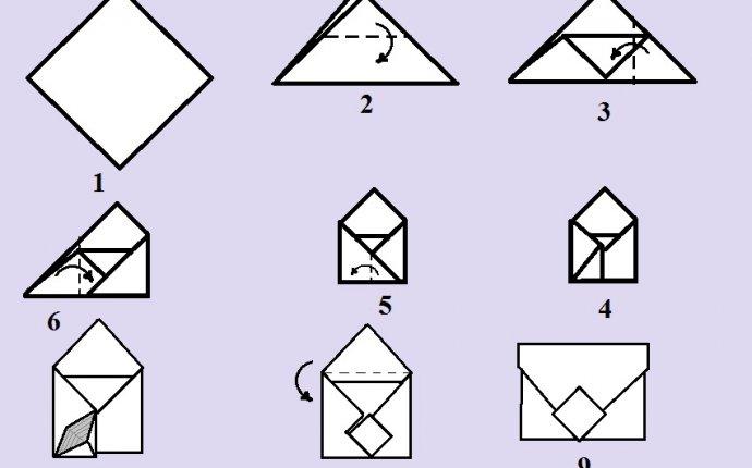 Поделки оригами из листа а4