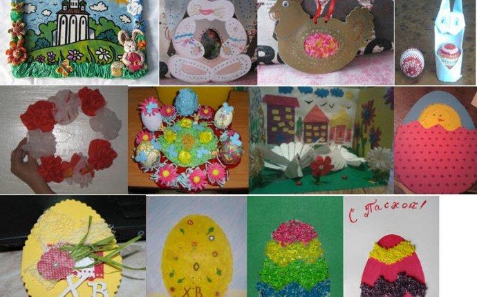 Работы конкурса Весенние поделки для детского сада