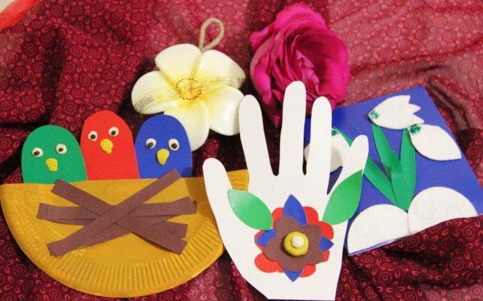 Весенние поделки из бумаги, которые можно сделать с ребенком